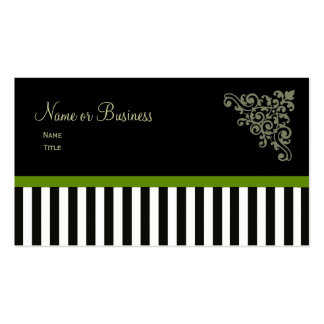 French Boutique ~ Business Cards Green