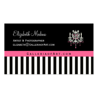 French Boutique Chandelier ~ Business Cards
