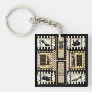 French Boutique Keychain