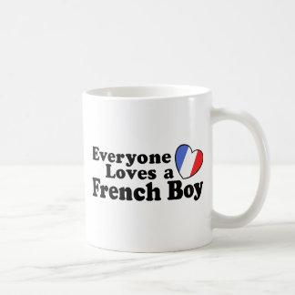 French Boy Coffee Mugs