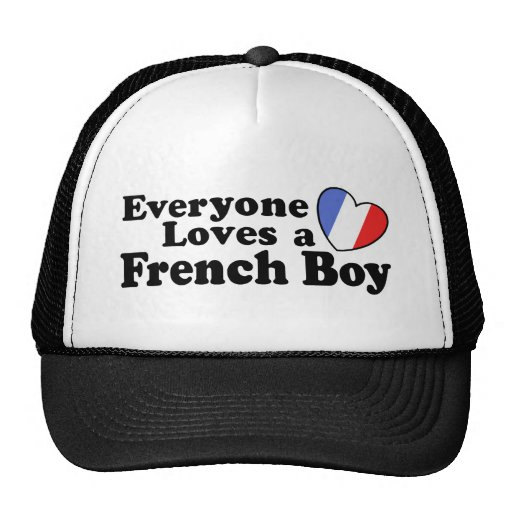 French Boy Trucker Hat