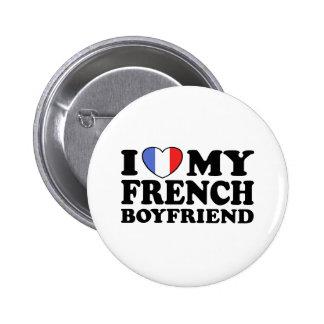 French Boyfriend Pinback Button