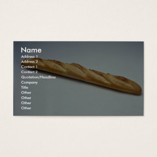 French bread business card