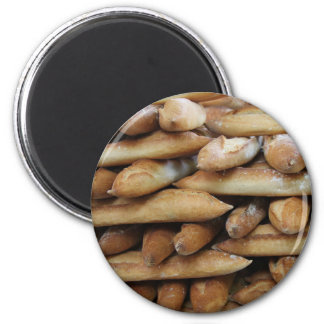 French bread by ProvenceProvence 2 Inch Round Magnet