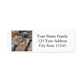French bread by ProvenceProvence Return Address Label