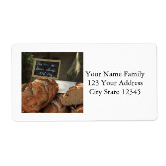 French bread by ProvenceProvence Personalized Shipping Label