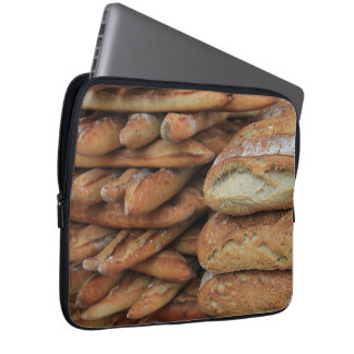 French bread by ProvenceProvence Laptop Sleeves