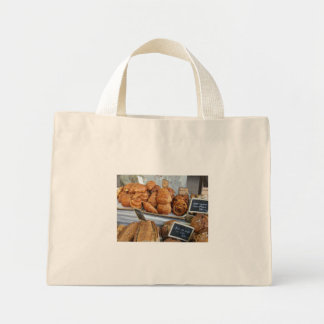 French bread by ProvenceProvence Mini Tote Bag