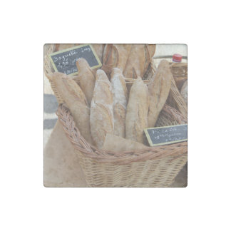 French bread by ProvenceProvence Stone Magnet