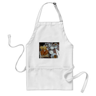 French breakfast adult apron