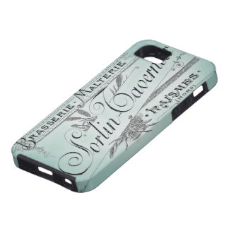 French Brewery Vintage Advertisement iPhone 5 Cover