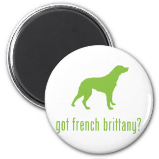 French Brittany 2 Inch Round Magnet