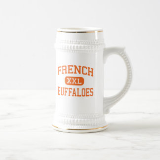 French - Buffaloes - High School - Beaumont Texas Beer Stein
