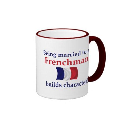 French Builds Character Ringer Mug