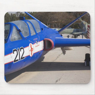 French Built Fouga Magister trainer Mouse Pad