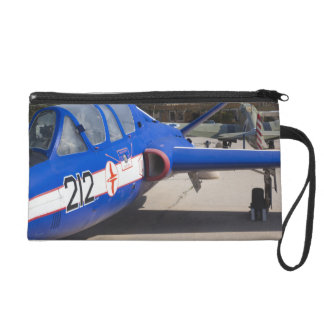 French Built Fouga Magister trainer Wristlet Purse