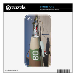 French-built Mystere fighter Decals For iPhone 4