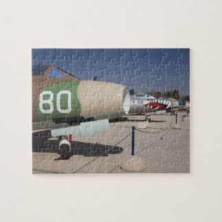 French-built Mystere fighter Jigsaw Puzzle