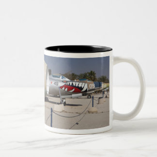 French-built Mystere fighter Two-Tone Coffee Mug
