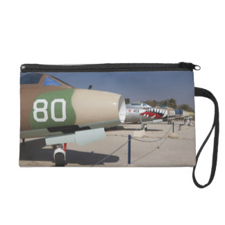 French-built Mystere fighter Wristlet Purse