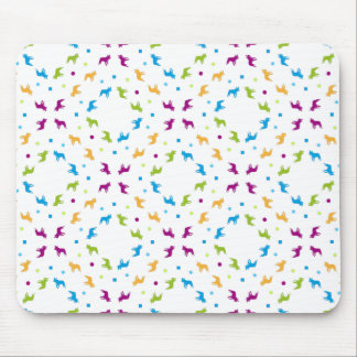 French Buldogs pattern Primavera Mouse Pad