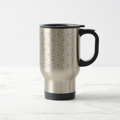 French Buldogs pattern Primavera Coffee Mug
