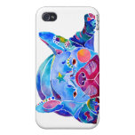 French Bull Dog iPhone Case Blues iPhone 4/4S Case