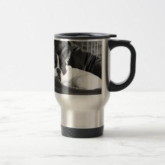 French Bull Dog Pet Puppy Cute Love Destiny 15 Oz Stainless Steel Travel Mug