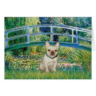 French Bulldog 1 - Bridge Greeting Card