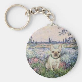 French Bulldog 1 - By the Seine Keychains