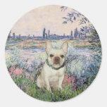 French Bulldog 1 - By the Seine Sticker