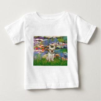 French Bulldog 1 - Lilies 2 Baby T-Shirt