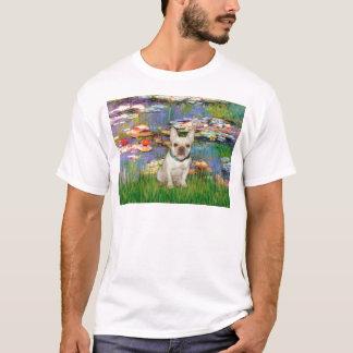 French Bulldog 1 - Lilies 2 T-Shirt