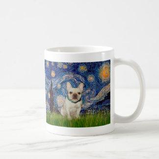 French Bulldog 1 - Starry Night Classic White Coffee Mug