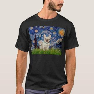 French Bulldog 1 - Starry Night T-Shirt