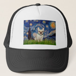 French Bulldog 1 - Starry Night Trucker Hat
