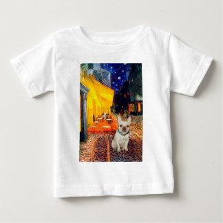 French Bulldog 1 - Terrace Cafe Baby T-Shirt
