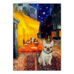 French Bulldog 1 - Terrace Cafe Card