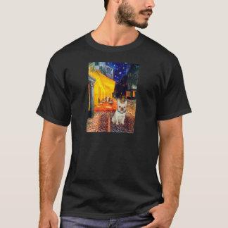French Bulldog 1 - Terrace Cafe T-Shirt