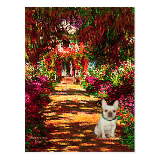 French Bulldog 1 - The Path Postcard