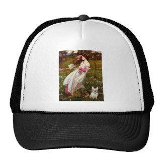 French Bulldog 1 - Windflowers Trucker Hat
