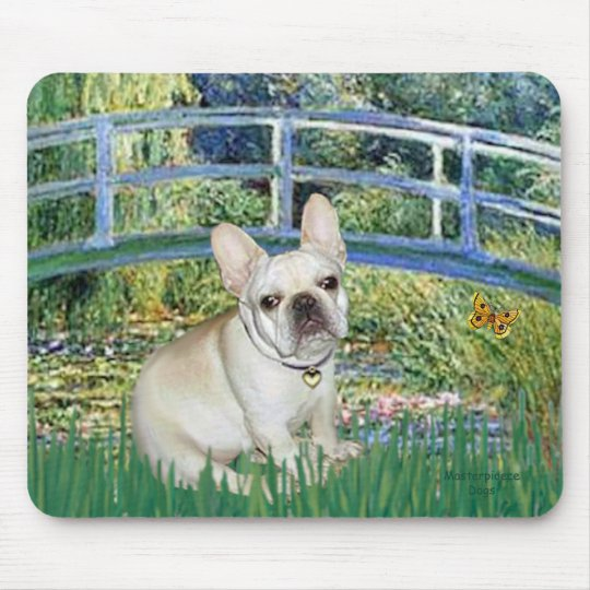 French Bulldog 3 - Bridge Mouse Pad
