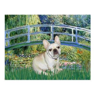 French Bulldog 3 - Bridge Postcard
