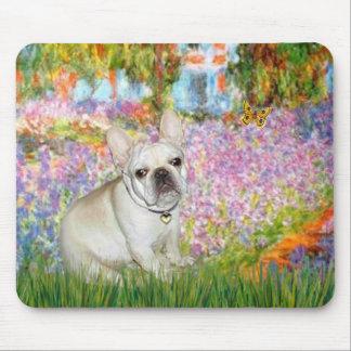 French Bulldog 3 - Garden Mouse Pad