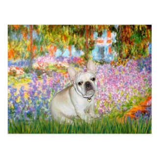 French Bulldog 3 - Garden Postcard