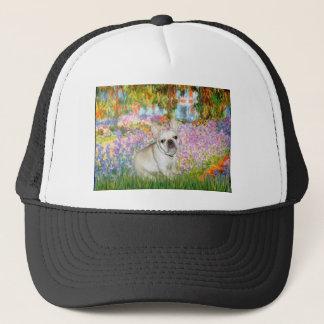 French Bulldog 3 - Garden Trucker Hat
