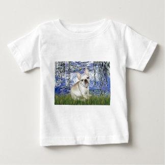 French Bulldog 3 - Lilies 6 Baby T-Shirt