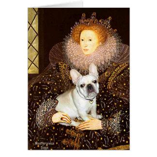 French Bulldog 3 - Queen Card