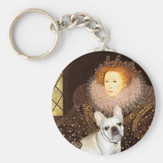 French Bulldog 3 - Queen Key Chain