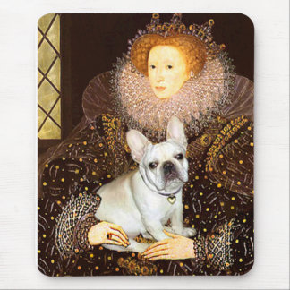 French Bulldog 3 - Queen Mouse Pad